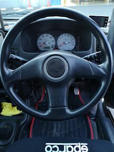 アルトワークス HA22S RS-Z  2WDのステアリングのカスタム事例画像 モデさん@Deyoo's神奈川さんの2019年01月14日16:41の投稿