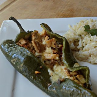 Chicken Stuffed Poblano Peppers Recipes.