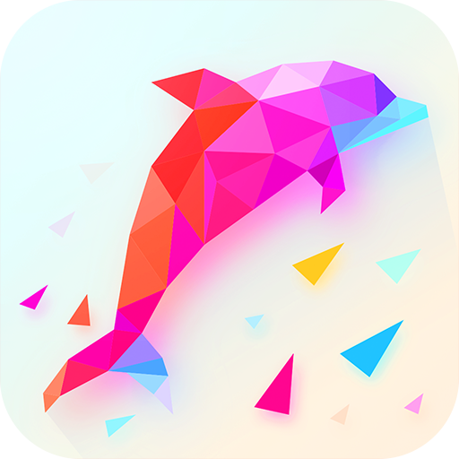 iPoly Art  Jigsaw Puzzle Game Coloring by Number