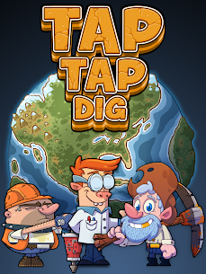 Tap Tap Dig – Idle Clicker Game MOD 1.5.0 (Unlimited Money) Apk 9