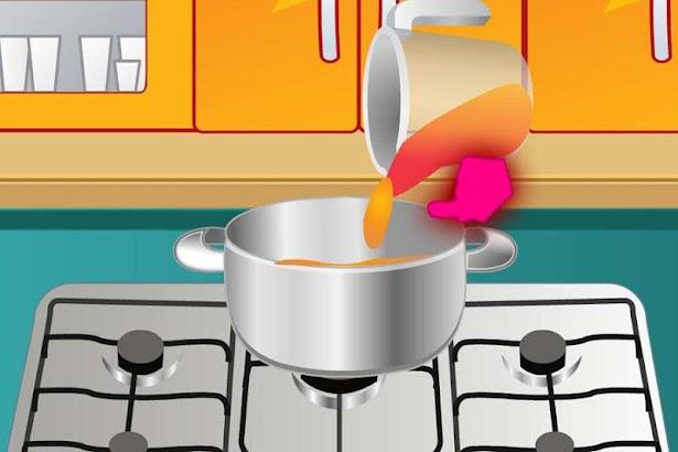 Healthy Breakfast Cooking Game screenshot