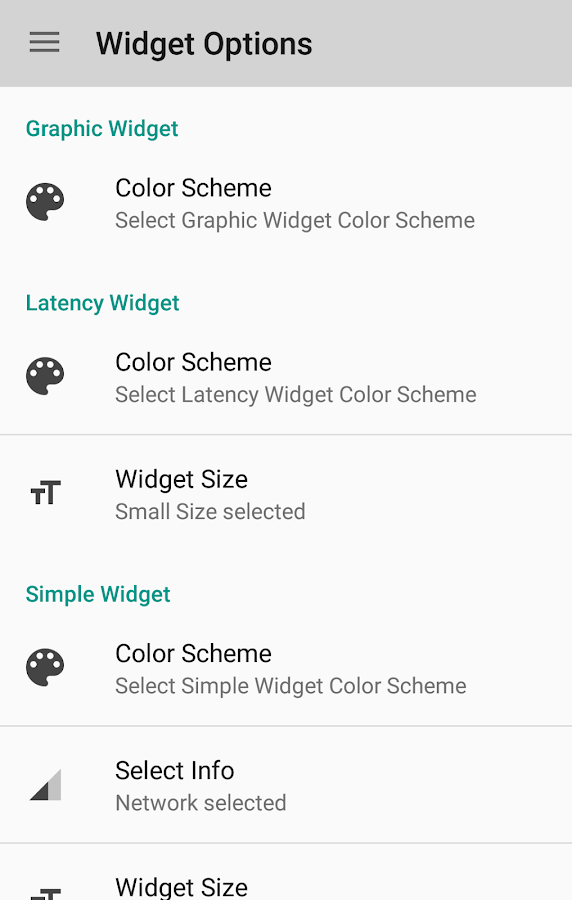 Network Signal Strength- screenshot