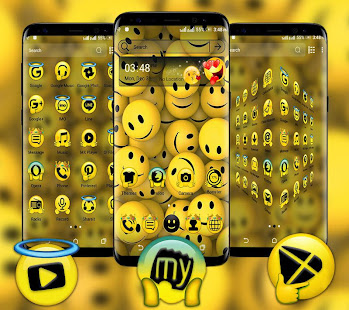 Emoji Launcher Theme
