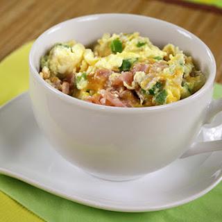 Denver Omelette in a Mug