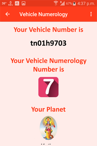 Vehicle number numerology android apps on google play for Best house number numerology