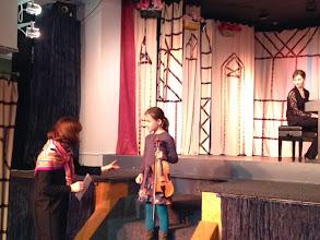 Photo: Dasha Chakhovskaya at Lukomorye, 11.3.2013