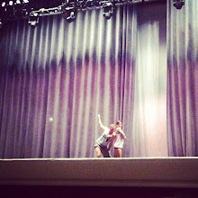 Photo: Practicing for Dance Gala