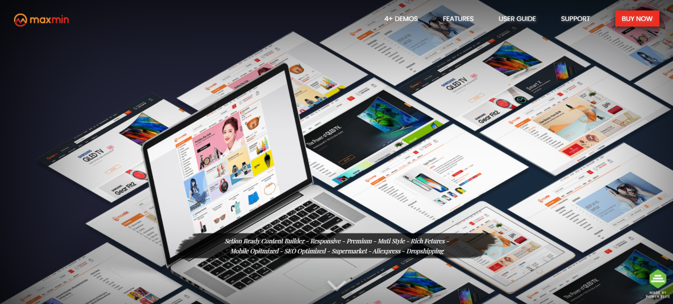 MAXMIN - Best free shopify theme for dropshipping