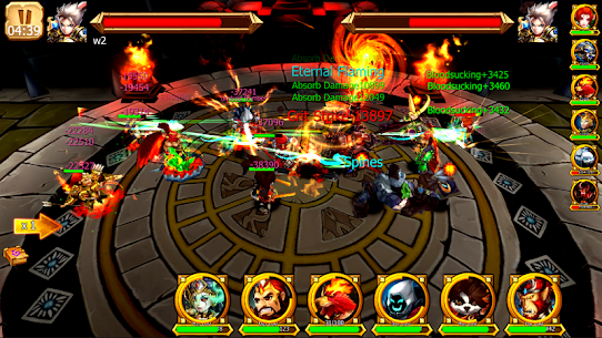 Battle of Legendary 3D Heroes MOD (Rage Skill/Attack Speed) 2
