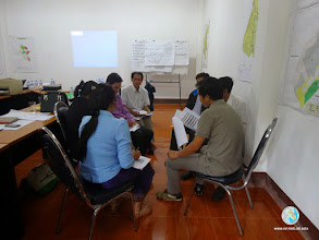 Photo: Farmer Trainer's Group discussion