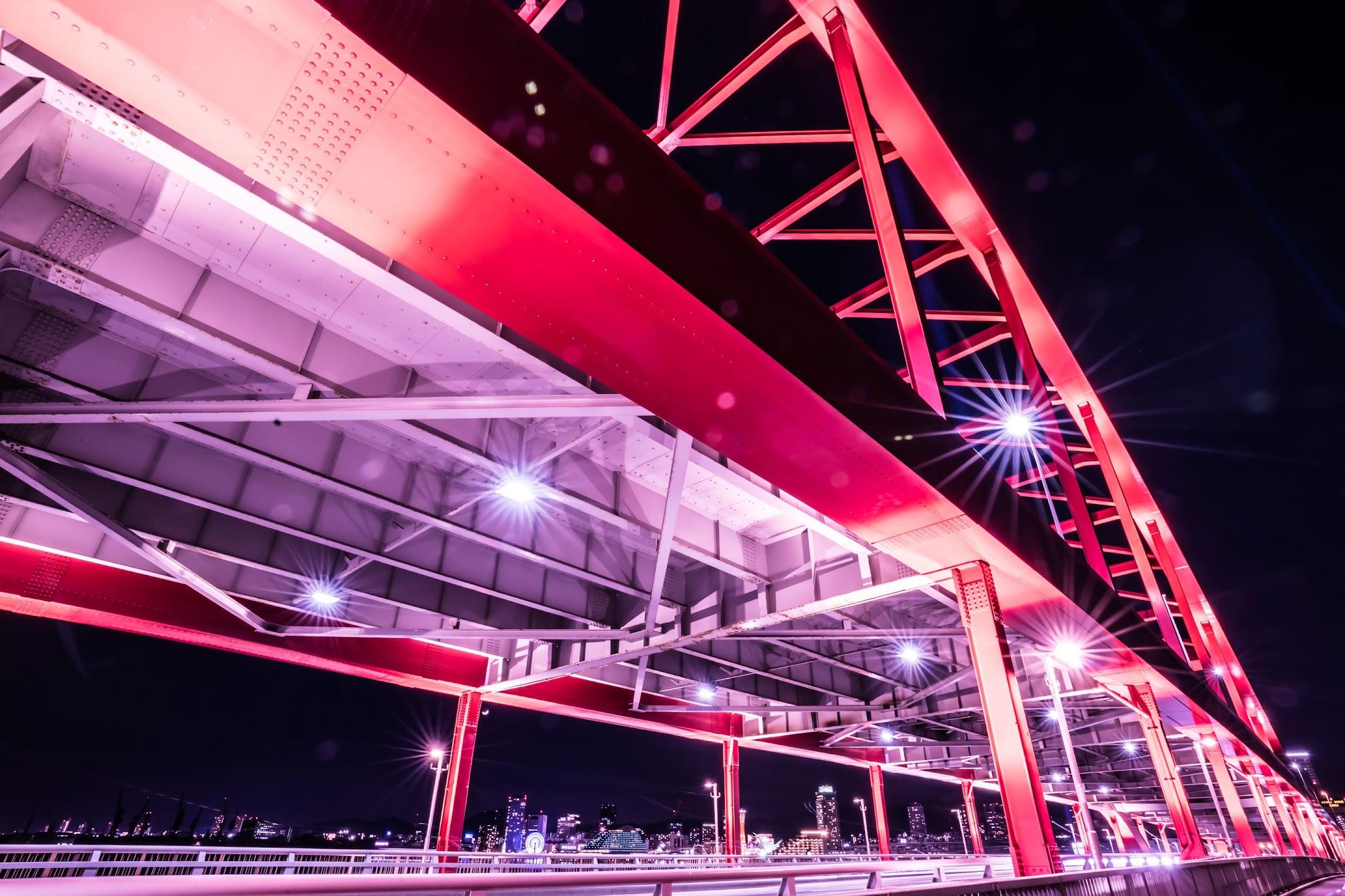 神戸大橋 夜景2