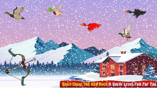 Real Duck Archery 2D Bird Hunting Shooting Game screenshots 5