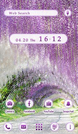 Wallpaper Wisteria Tunnel 1.0.1 Windows u7528 5