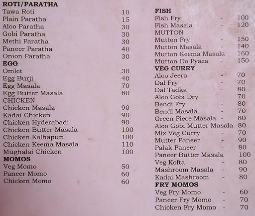 Kolkata Rolls & Fast Food menu 1