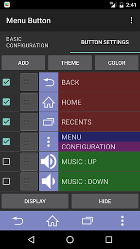 Menu Button (No root) 2.1.2 screenshots 3
