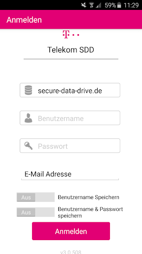 Telekom Secure Data Drive
