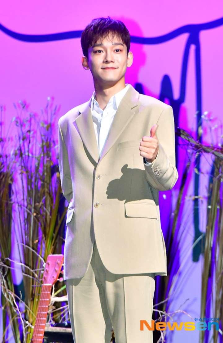 exo chen kfan reaction mariage