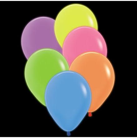 Ballonger, neon 12 st