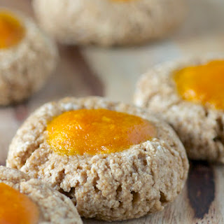 Persimmon Thumbprint Cookies