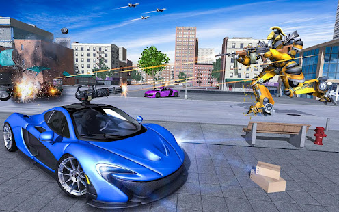 Download monster robot car transform: robot shooting war For PC Windows and Mac apk screenshot 18