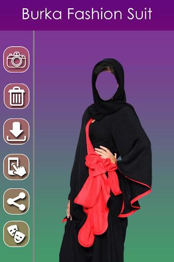 Burka Fashion Photo Suit