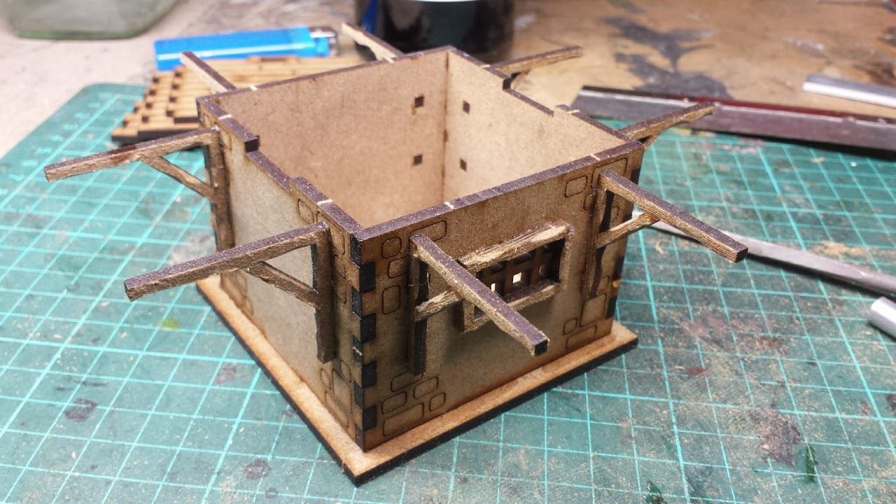 Fantasy Terrain: The Ruined Mill  - RichBuilds com
