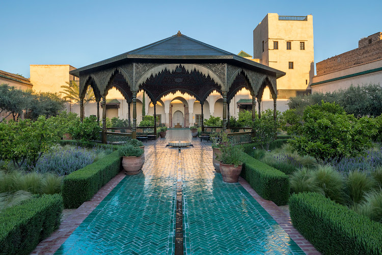 Discovering The Cool Oasis Like Secret Gardens In Smoking Hot Marrakech