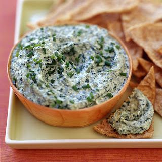 Feta and Spinach Dip.
