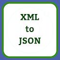 XML to JSON - Convert Bulk XML to JSON icon