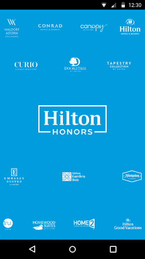 Hilton Honors Screenshot