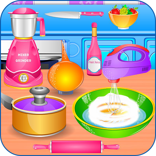 Learn with a cooking game Icon