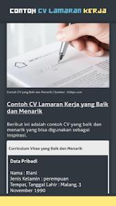 Download Contoh Cv Lamaran Kerja Apk Latest Version 1 2 0