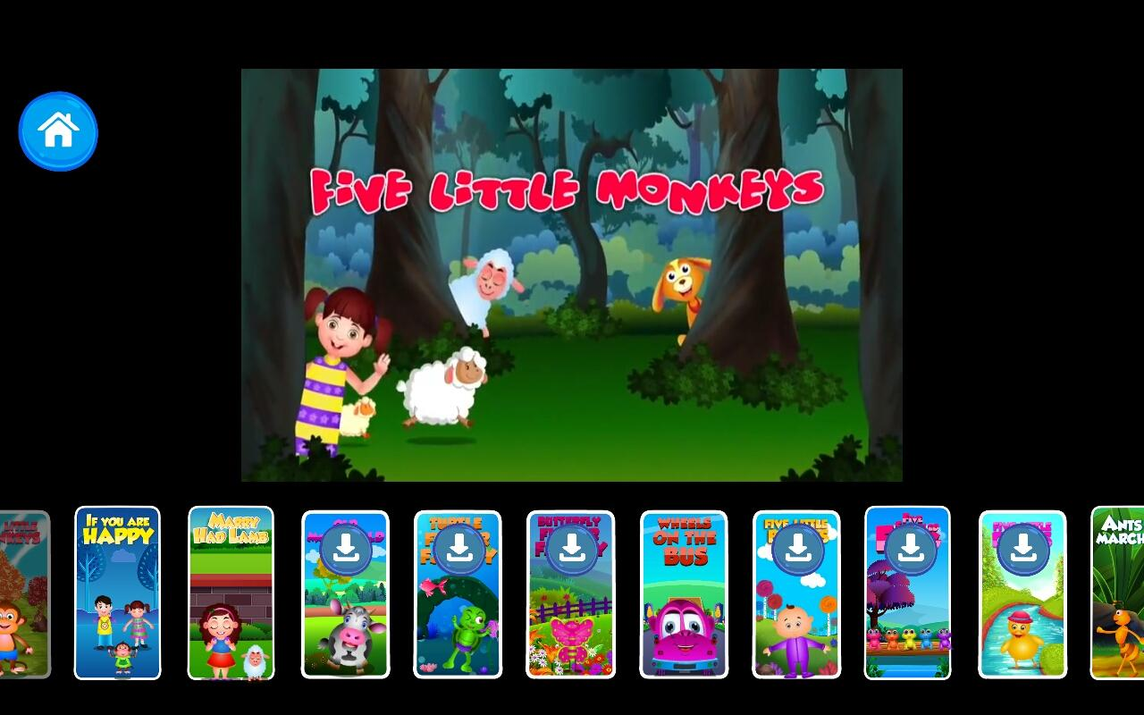 Kids Top Nursery Rhymes Videos - Offline Learning- screenshot