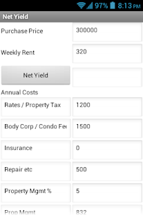 Property Yield- screenshot thumbnail