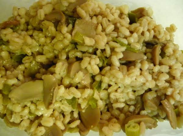 Onion Barley Casserole Recipe