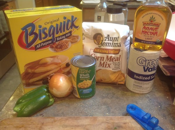 Then add in the dry ingredients. Stir to blend together,