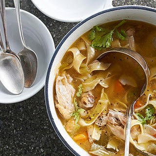 Bone-In Chicken Noodle Soup