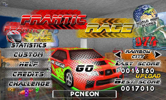 Android Games Frantic Race Free Download