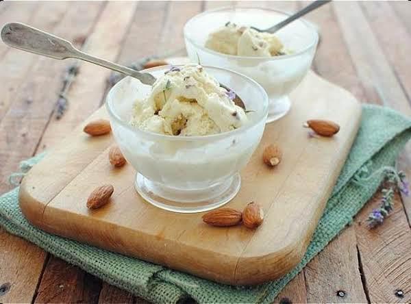 Low Fat Almond Vanilla Ice Cream Recipe
