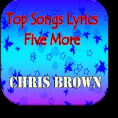 Top Five More Chris Brown
