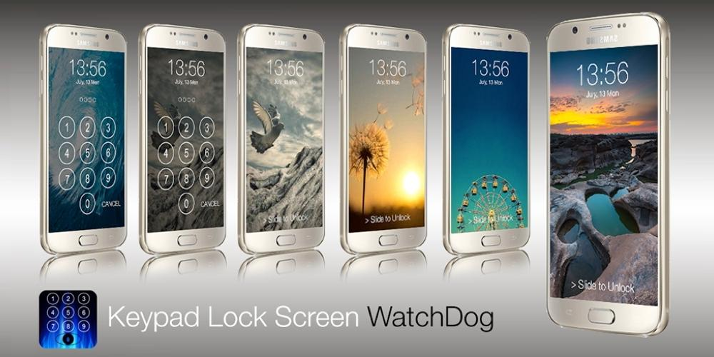 Keypad Lock Screen WatchDog- screenshot