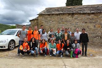 Photo: Los voluntarios de Castigaleu con los bikers