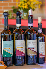 Photo: The four types of wines produced at Romanelli