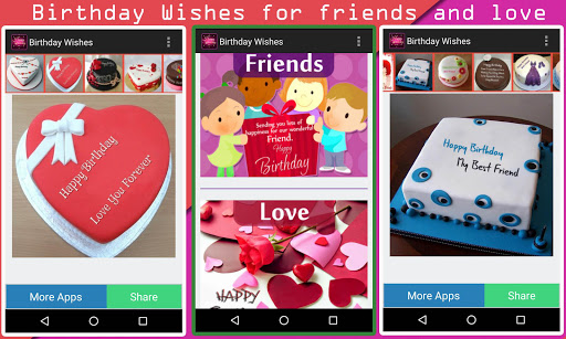 Birthday Wishes App Apk Free Download For Android PC Windows Screenshot