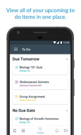 Canvas Student screenshot