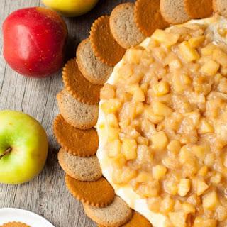 Caramel Apple Pie Cheesecake Dip