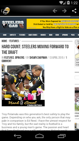 Pittsburgh Football News 3.0 screenshot 322308