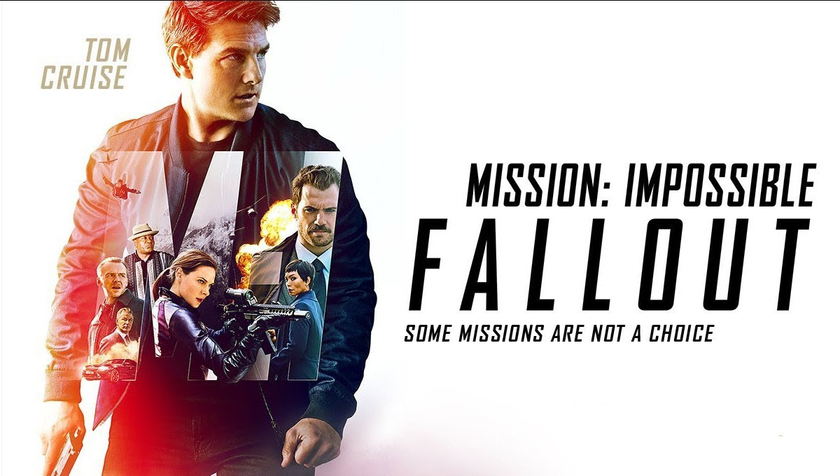 Mision: Impossible Fallout movie poster