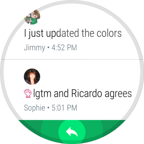 Hangouts screenshot 8