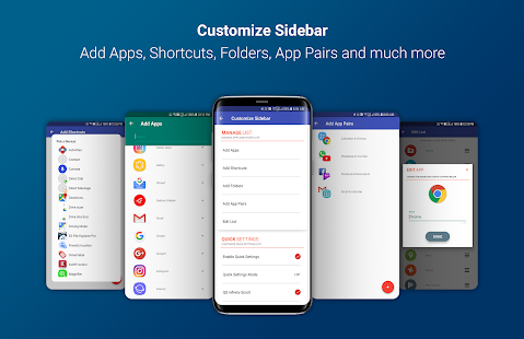 Circle Sidebar Pro Screenshot